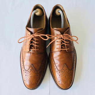 Cole Haan - COLE-HAAN/コールハーン 茶色 ウイングチップ 27cm 除菌・消臭済み