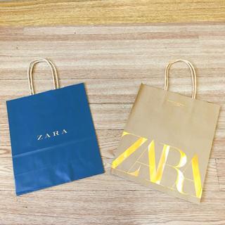 ザラ(ZARA)のZARA ショップ袋 2点セット(ショップ袋)