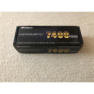 ジーフォース リポバッテリー 7.4V 7400mAh 150c 【GE201】(ホビーラジコン)