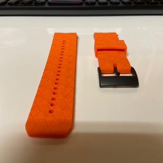 スント(SUUNTO)のラバーベルト:Suunto 9(オレンジ)(腕時計(デジタル))