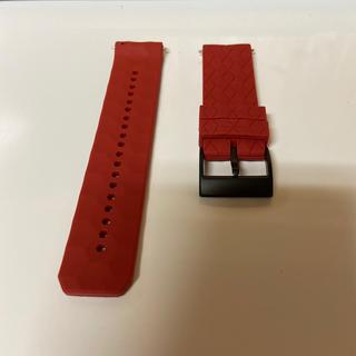 スント(SUUNTO)のラバーベルト:Suunto 9(赤)(腕時計(デジタル))