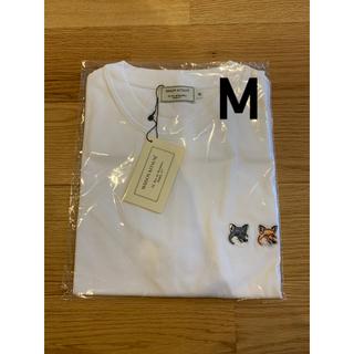 MAISON KITSUNE' - メゾンキツネ  ダブルフォックス  半袖Tシャツ  M  新品未使用