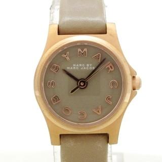 マークバイマークジェイコブス(MARC BY MARC JACOBS)のマークジェイコブス 腕時計美品  - MBM1239(腕時計)