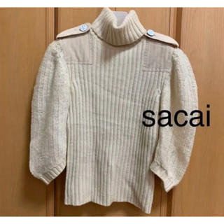 sacai - サカイ ニット