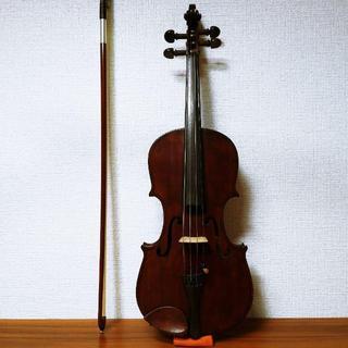 【良乾燥ドイツ製】E.Otto Wolfram バイオリン 1/4(ヴァイオリン)