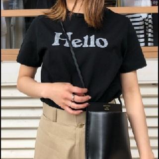 マディソンブルー(MADISONBLUE)の新作モデル ハロー ブラックT マディソンブルー 01(Tシャツ(半袖/袖なし))