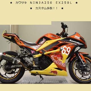 カワサキ - カスタムパーツ多数! NINJA250 実働 即乗り EX250L