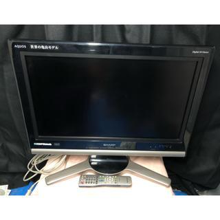アクオス(AQUOS)のシャープ 26V型 液晶 テレビ AQUOS LC-26D10 2007年製(テレビ)