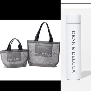 DEAN & DELUCA - DEAN &DELUCA夏限定トートLサイズ ステンレスボトル白2点新品未使用品