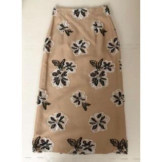 ロンハーマン(Ron Herman)のPARLMSEL 刺繍 スカート(ひざ丈スカート)
