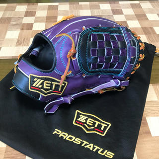 ZETT - 美品!ZETT プロステイタス  源田モデル 特別仕様 軟式オーダーグラブ