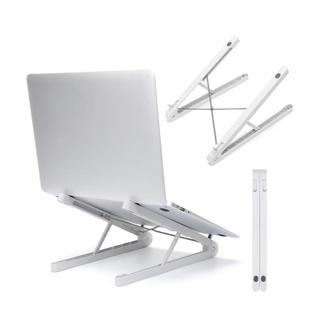 ノートパソコンスタンド PCスタンド タブレットスタンド  滑り止めシリコン