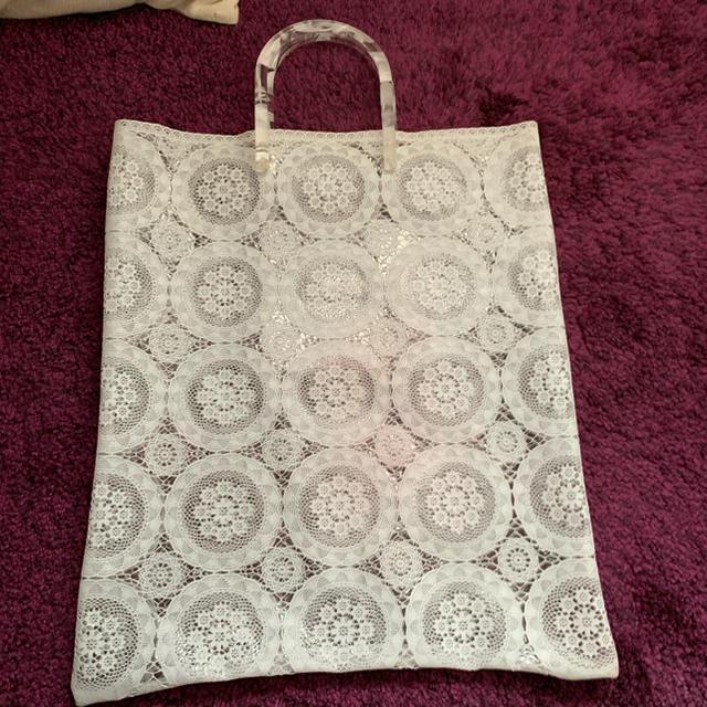 mame(マメ)のmame ビニールバッグ レディースのバッグ(ハンドバッグ)の商品写真