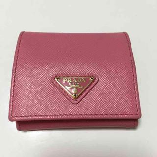 プラダ(PRADA)のプラダ コインケース サフィアーノ 財布(財布)
