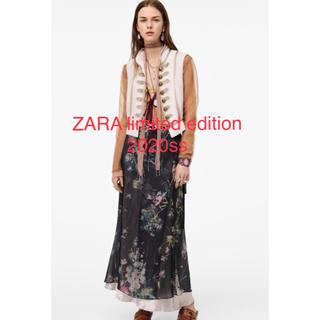 ザラ(ZARA)の定価13000円❗️ZARA リミテッドエディション 花柄巻きスカート(ロングスカート)