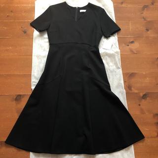 FRAY I.D - セルフォード 綺麗なラインのワンピース 黒