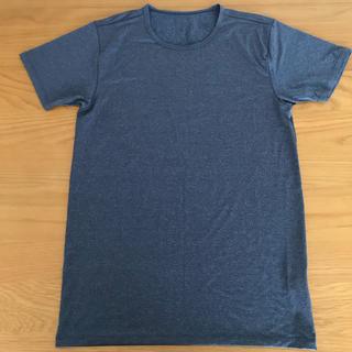 ユニクロ(UNIQLO)のユニクロ エアリズム メンズ Sサイズ 半袖(その他)