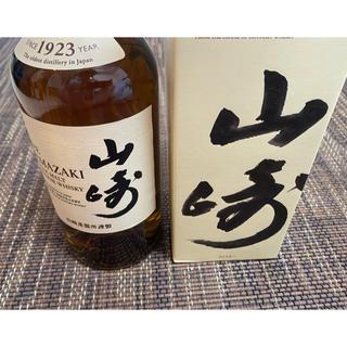 サントリー - 山崎 ウイスキー  700ml 箱付き