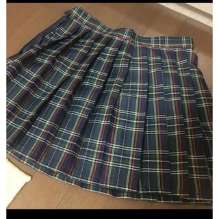 チェック スカート 制服 なんちゃって