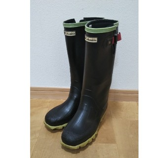 コロンビア(Columbia)のコロンビア23cmレインブーツ長靴黒(レインブーツ/長靴)