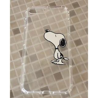 スヌーピー(SNOOPY)のiPhone  8(7)plusケース(iPhoneケース)