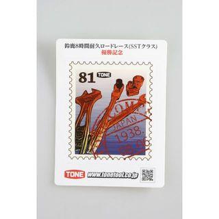 非売品 ノベルティ トネ TONE 鈴鹿8耐 ステッカー シール(その他)