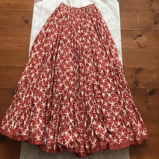 TOMORROWLAND - マリハ 可愛い珊瑚柄スカート