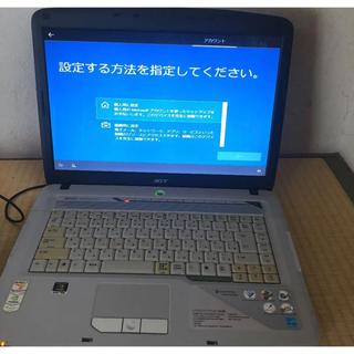 エイサー(Acer)のacer パソコン PCWindows10 初期化済み(ノートPC)