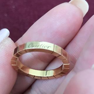 カルティエ(Cartier)の正規品カルティエラニエールYGリング54(リング(指輪))