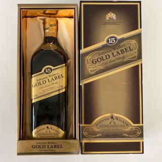 ジョニーウォーカー15年 ゴールドラベル 750ml