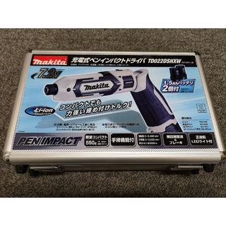 マキタ(Makita)の[新品未使用]マキタ 充電式ペンインパクトドライバ(白) TD022DSHXW(工具/メンテナンス)