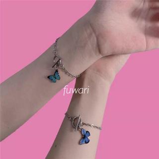 PAMEO POSE - 🦋 Butterfly chain bracelet .