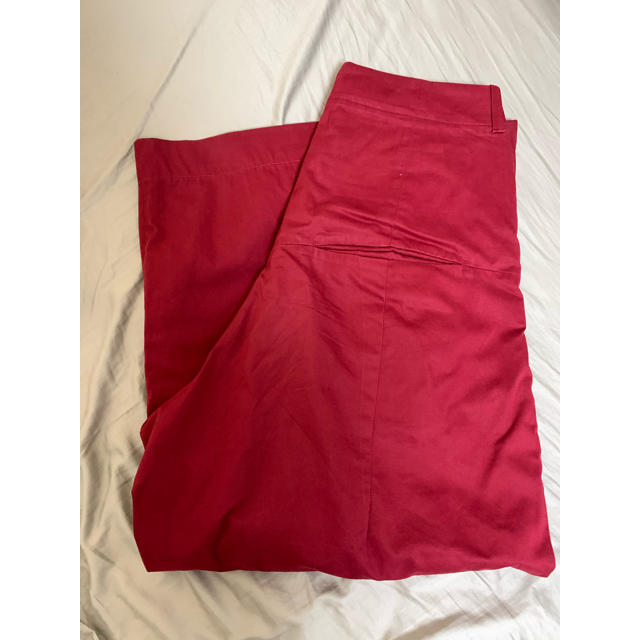 JOHN LAWRENCE SULLIVAN(ジョンローレンスサリバン)のSHINYA KOZUKA buggy pants maroon メンズのパンツ(ワークパンツ/カーゴパンツ)の商品写真