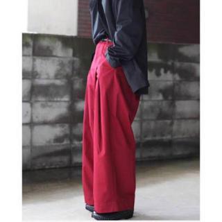 JOHN LAWRENCE SULLIVAN - SHINYA KOZUKA buggy pants maroon