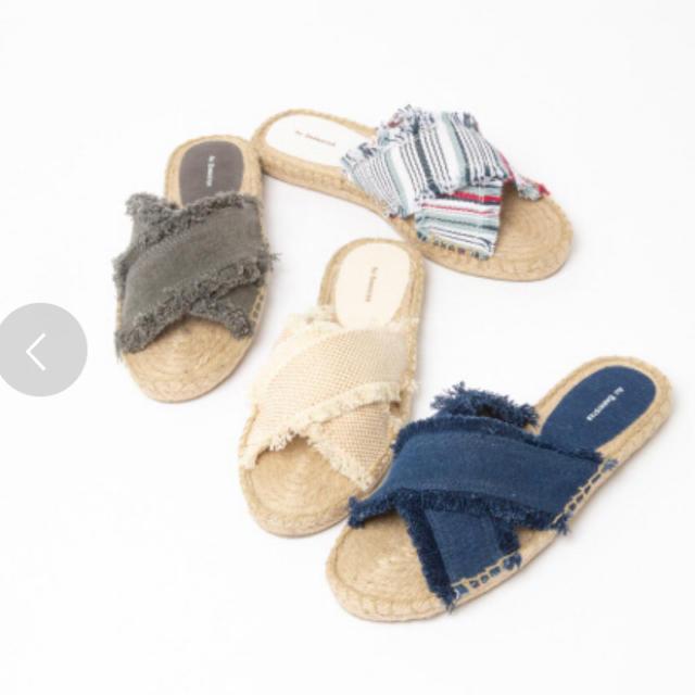AU BANNISTER(オゥバニスター)のAU BANNISTER サンダル ミュール ベージュ36(23) レディースの靴/シューズ(サンダル)の商品写真