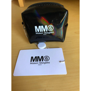 MM6 - MM6 マルジェラ ロゴ ホログラフィック コインポーチ