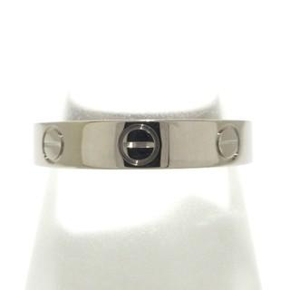 カルティエ(Cartier)のカルティエ リング 52美品  ミニラブ K18WG(リング(指輪))