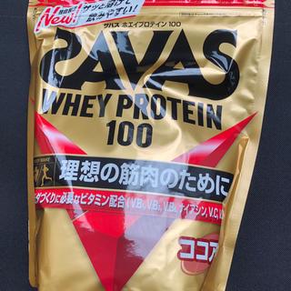 ザバス(SAVAS)のザバス ホエイプロテイン100 ココア味(プロテイン)