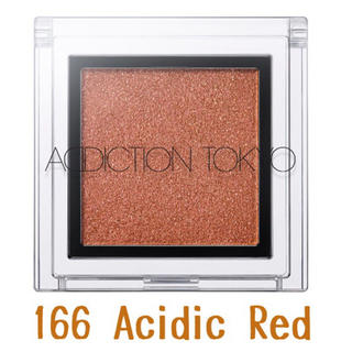 ADDICTION - 限定*ADDICTION *ザ アイシャドウ * 166 Acidic Red