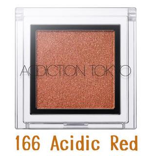 ADDICTION - 限定*ADDICTION *ザ アイシャドウ * 166 Acidic Red