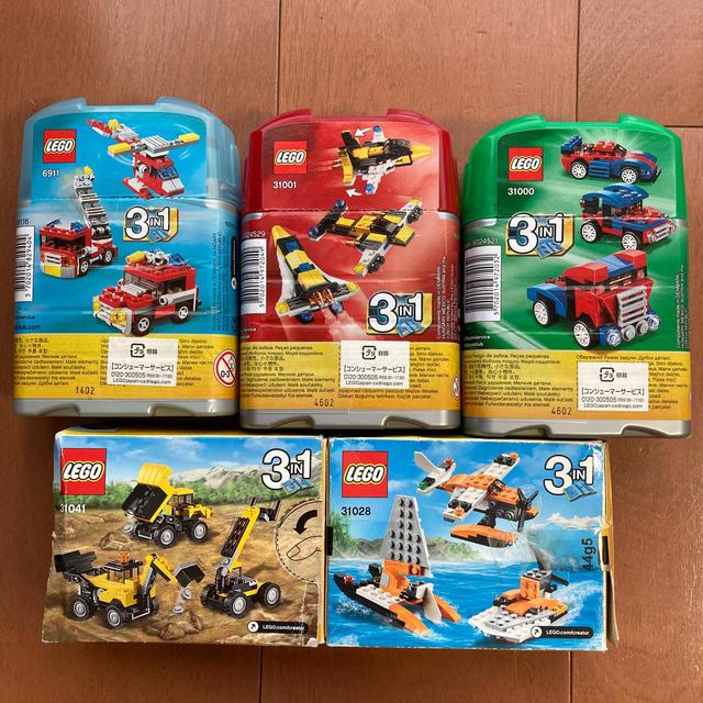 Lego(レゴ)のレゴ クリエイター まとめ売り LEGO CREATOR キッズ/ベビー/マタニティのおもちゃ(積み木/ブロック)の商品写真