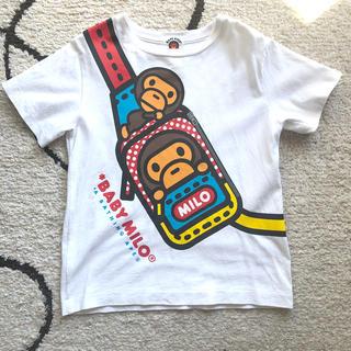 アベイシングエイプ(A BATHING APE)のBAPE半袖シャツ(Tシャツ/カットソー)