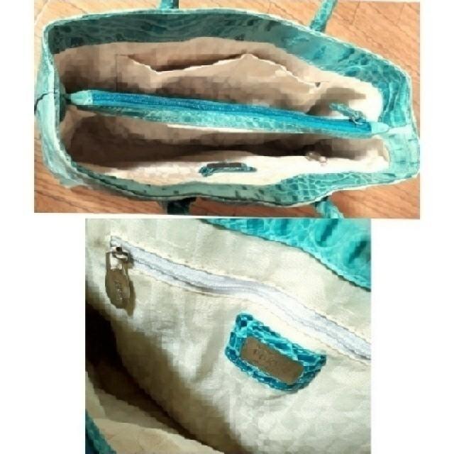 Furla(フルラ)の☆レア♪ ✿フルラ*FURLA✿ クロコ型押し♪トートバッグ/ショルダーバッグ☆ レディースのバッグ(ショルダーバッグ)の商品写真