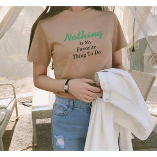 ゴゴシング(GOGOSING)の●G378新品*特価)gogosingレタリングTシャツ(Tシャツ(半袖/袖なし))