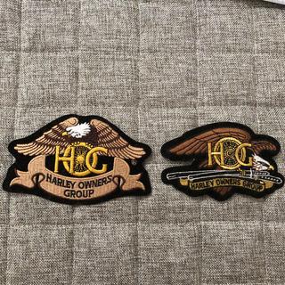 ハーレーダビッドソン(Harley Davidson)のハーレーダビッドソン ワッペン2枚(ステッカー)