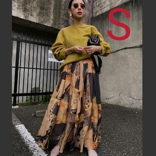 Ameri VINTAGE - 新品タグ付 EMILIE TUCK FLARED SKIRT S アメリ