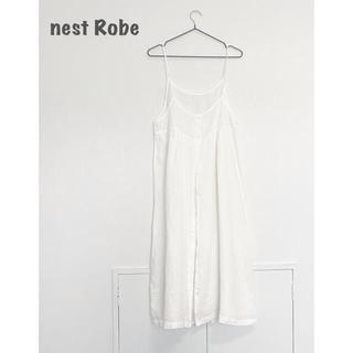 ネストローブ(nest Robe)の【nest Robe】リネンワンピース ネストローブ(ひざ丈ワンピース)