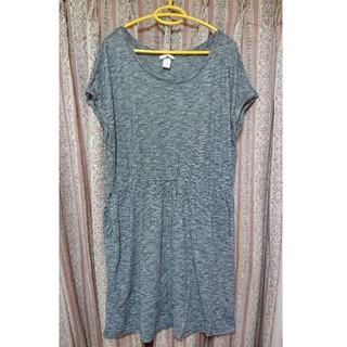 H&M - H&M レディース Tシャツワンピース 大きいサイズ‼️