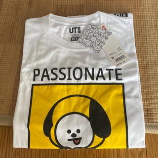 ボウダンショウネンダン(防弾少年団(BTS))のBT21 UNIQLO CHIMMY Tシャツ M(Tシャツ/カットソー(半袖/袖なし))