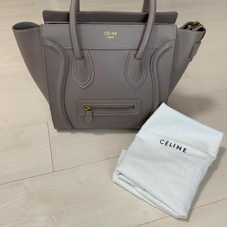 celine - 【正規品】セリーヌ ラゲージ マイクロ